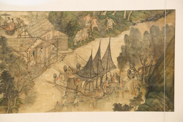 Chinese_Handscroll_Mounted_in_Frame_Colored_Ink_on_Silk_18th-19th_Century953_2